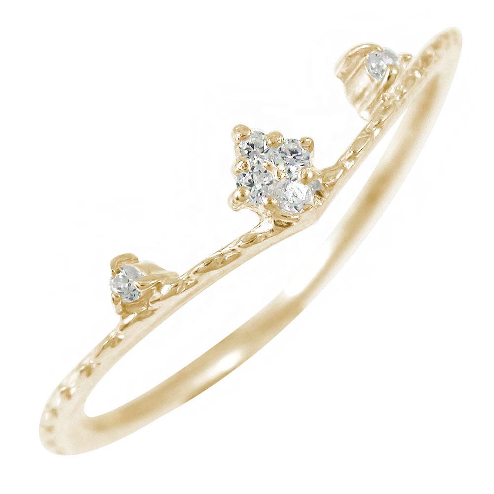 素材が選べる リング k10 ご入学 卒業式 入社式 お祝い ミル 10金 指輪 送料無料 新品 キャッシュレス ひし形 ポイント還元 新発売 ダイヤモンド