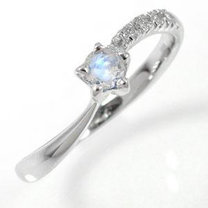 10/4 20時~ ブルームーンストーンリング 10金 指輪 流れ星 ダイヤモンド ピンキーリング ギフト 記念日 母の日 プレゼント プレゼント 誕生日プレゼント 大切な方に ファッションリング 送料無料 買い回り 買いまわり