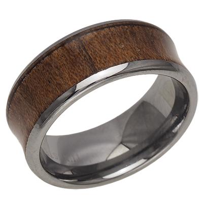 刻印 オンライン限定商品 ギフトラッピング無料 ハワイアンジュエリー ハワイアンコアウッド リング 指輪 ストアー 8mm ハワイアン コアウッド コアウッドリング レディース 9号-21号 メンズ タングステン