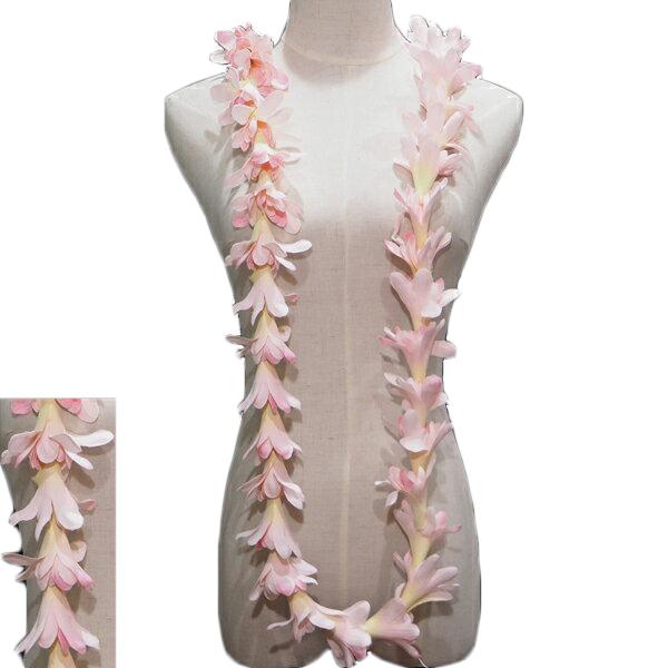 ハワイで実際に使われている本格フラ用レイ 半額 ハワイアンレイ ハワイアン 爆買い送料無料 レイ フラ フラワーレイ フラダンス衣装 アイランドチューブローズロングレイ ピンク