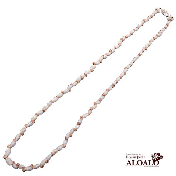 ニイハウシェル ハワイ製 ネックレス モミ カヘレラニ