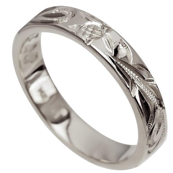 刻印無料 ギフトラッピング無料 アロアロハワイアンのリングはあなただけの特別なオーダーメイドが可能です 大切な人へのプレゼント 自分へのプレゼントにぜひ ハワイアンジュエリー リング お気に入り 指輪 オーダーメイド 0号-28号 フラットリング メンズ 幅4mm 2020秋冬新作 シルバー925 手彫りリング ハワイ製 レディース 1.75mm厚
