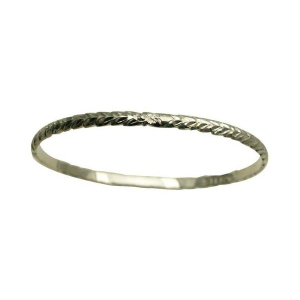 夏威夷人珠宝手镯手镯本格定做银子手镯桶可靠的1.75mm厚4mm能选的设计以及样式人分歧D Fra手雕刻刻图章夏威夷制造袖口银子925 5.5英寸~9英寸订货