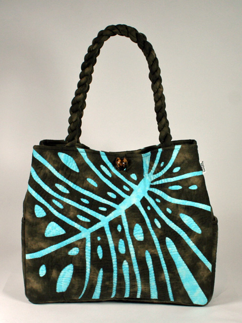 Hawaiian Kilt Bag New Stan Dirt Course Rial Monstera E Dark Brown On Pastel Is Blue