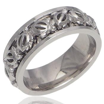 ハワイアンジュエリー リング シルバーリング ホヌスピンリング メンズ レディース 指輪 刻印 ロジウムコーティング シルバー 9号-21号