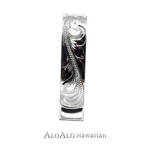 ハワイアンジュエリー ネックレス ペンダント トップ 手彫りマネークリップM メンズ レディース シルバー ハート