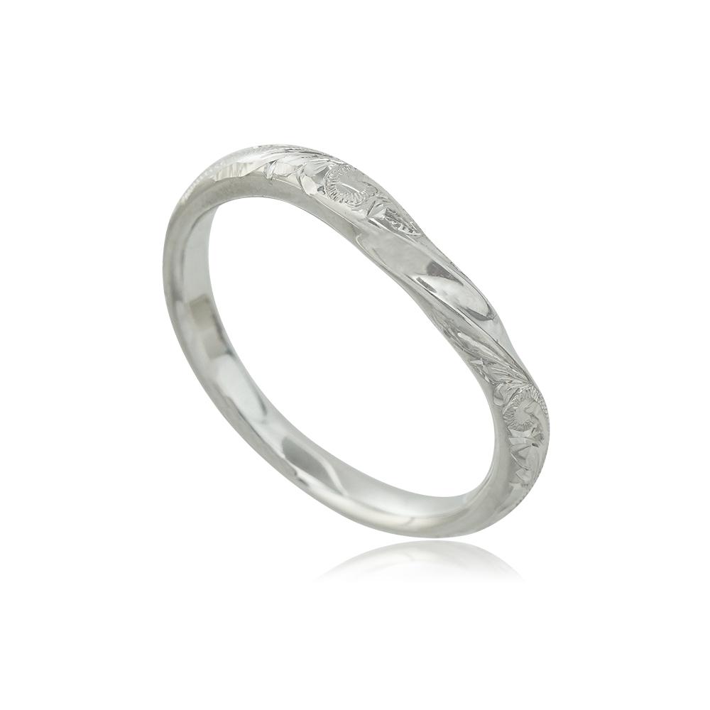 【送料無料】ハワイアンジュエリー ハワジュオーダーメイド リング 結婚指輪 マリッジリング 手彫り 指輪 メンズ プラチナ結婚 マリッジ ペアリング 記念日 プレゼントペアアクセサリー ギフト 贈り物 カップル お揃い