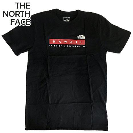 送料無料 ザ ノースフェイス ハワイ限定 THE NORTH FACE フェイス ハワイ直輸入 100%品質保証! Tシャツ スーパーセール ブラック メンズ ノース 半袖