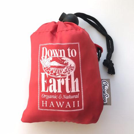 ハワイ直輸入 メール便200円 Down to Earth ダウントゥアース CHICO エコバック ショッピングバック 折り畳みバッグ お得クーポン発行中 BAG 日本メーカー新品