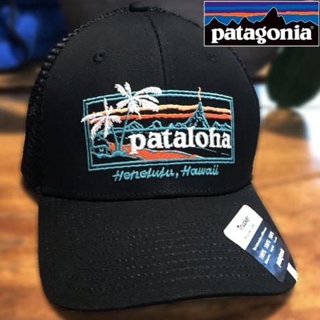 メイルオーダー 送料無料 ハワイのパタゴニア限定 Pataloha 安全 PATAGONIA パタゴニア ハワイ パタロハ SIGN メンズ HAT PATALOHA ハワイ直輸入 TRUCKER キャップ