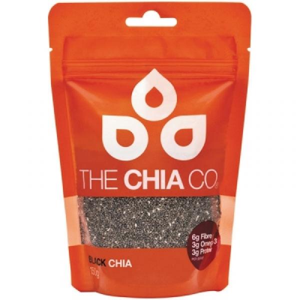 ブラックチアシード 150g The Chia Co (치아/무선) 현대인이 부족 하기 쉬운 오메가-3 지방산, 식이 섬유, 단백질, 비타민, 미네랄 등의 영양소가 풍부 하 고 다이어트에도 추천!