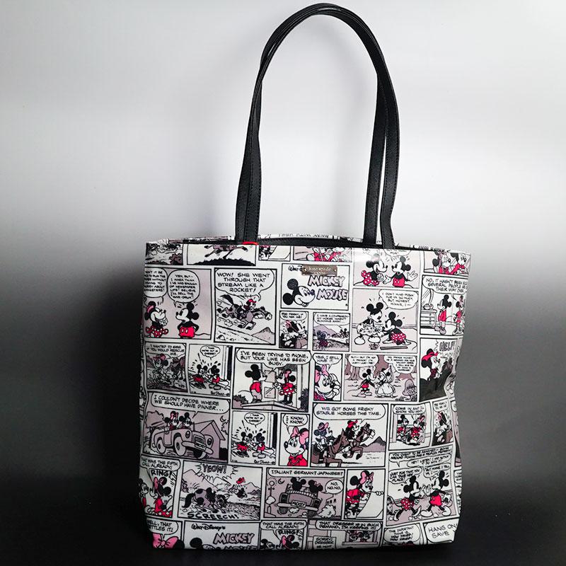 ディズニー ミニーちゃんとのコラボバック! ケイトスペード トートバッグ ディズニー ミニー トートバック日本未入荷デザイン、モデル!柄の出が一つ一つ違いますので、お選びくださいませ♪