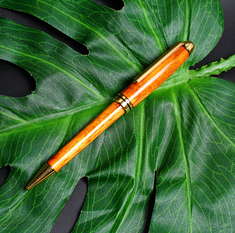 Hawaii limited edition! Disney's AULANI (aulani resort) ( Koa ) KOA wood ballpoint pen