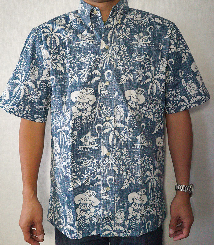 1258b502 ... A Hawaiian shirt of the collaboration with Disney movie Moana (モアナ)  which featured the ...