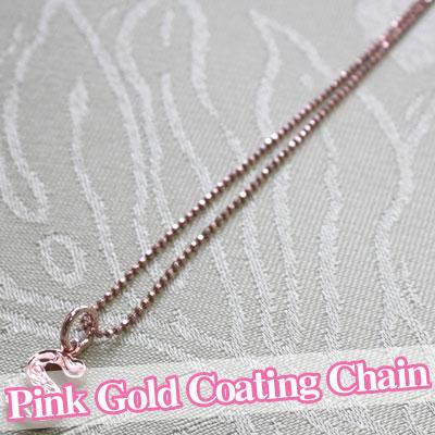 (長さ40cm・45cm・50cm) (Weliana) ネックレス カットロープチェーン幅1.5mm K14ピンクゴールド dch151052/ 数量限定 ハワイアンジュエリー ネックレス ネックレス
