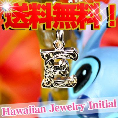 Hawaiian jewelry initial pendants popular Hawaiian jewelry pink gold (SV925 )