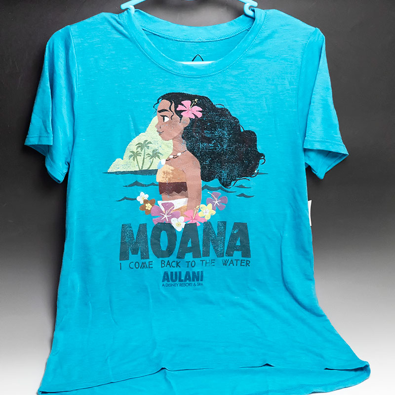 e9f8ab0b A Moana モアナ T-shirt Hawaiian attributive design! As it is size of the ...