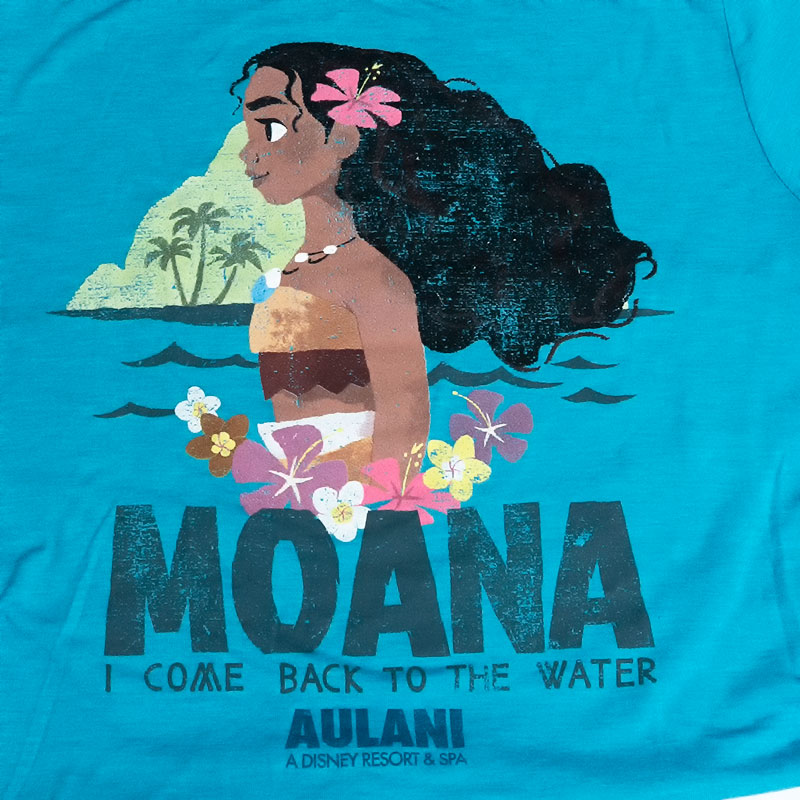 c2937056 ... A Moana モアナ T-shirt Hawaiian attributive design! As it is size of the  ...