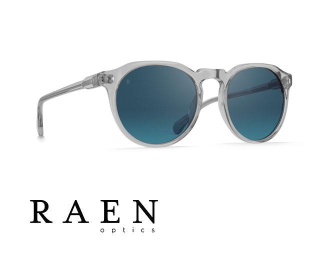 サングラス メンズ レーン RAEN [ REMMY 49 ] Arctic Crystal [ボストンタイプ] レーン メンズ レディース おしゃれ デザイン BLUE MIRROR ブルーミラー
