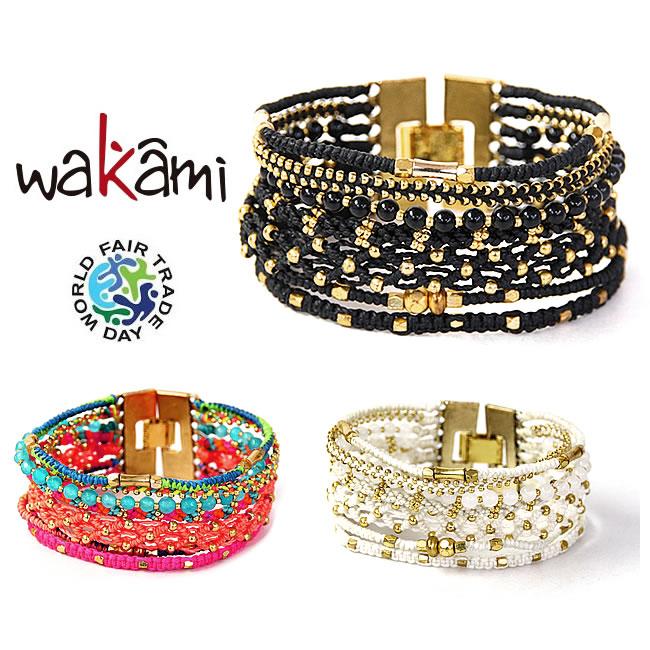 와카미 wakami 팔찌 올 원 7 스트란드 팔찌[WA9877 /WA9878/ WA9879][발송]