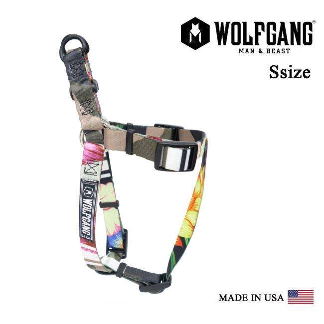 Harness dog WOLFGANG MAN & BEAST wolf gang STREET LOGIC HARNESS [MADE IN USA] fashion harness dog trunk ring