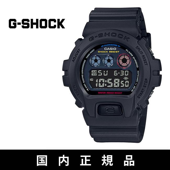 カシオ Gショック G-SHOCK [ DW-6900BMC-1JF ] Black × Neon NEO TOKYO CITY [0904]【SPS03】