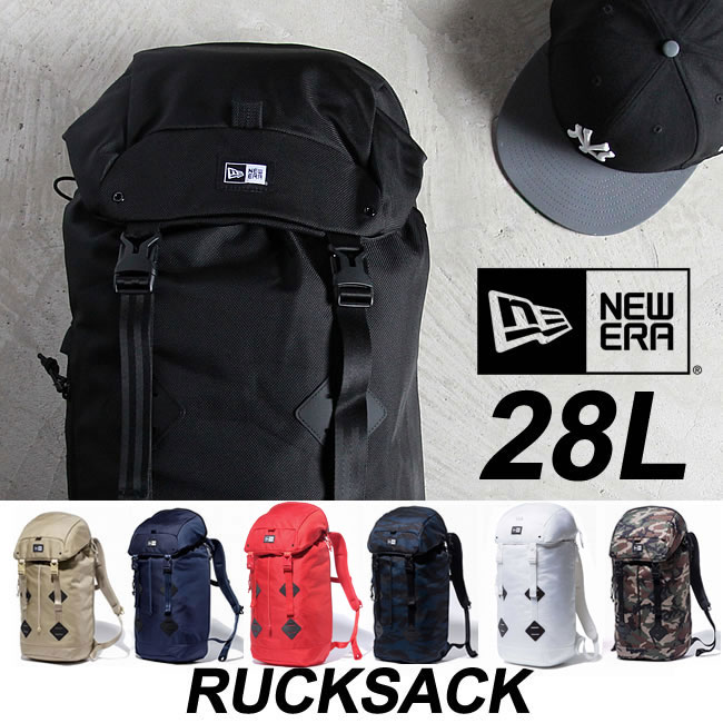 NEWERA / ニューエラ Rucksack [28L] ラックサック バックパック デイパック リュックサック newera バッグ キャップ 鞄 bag