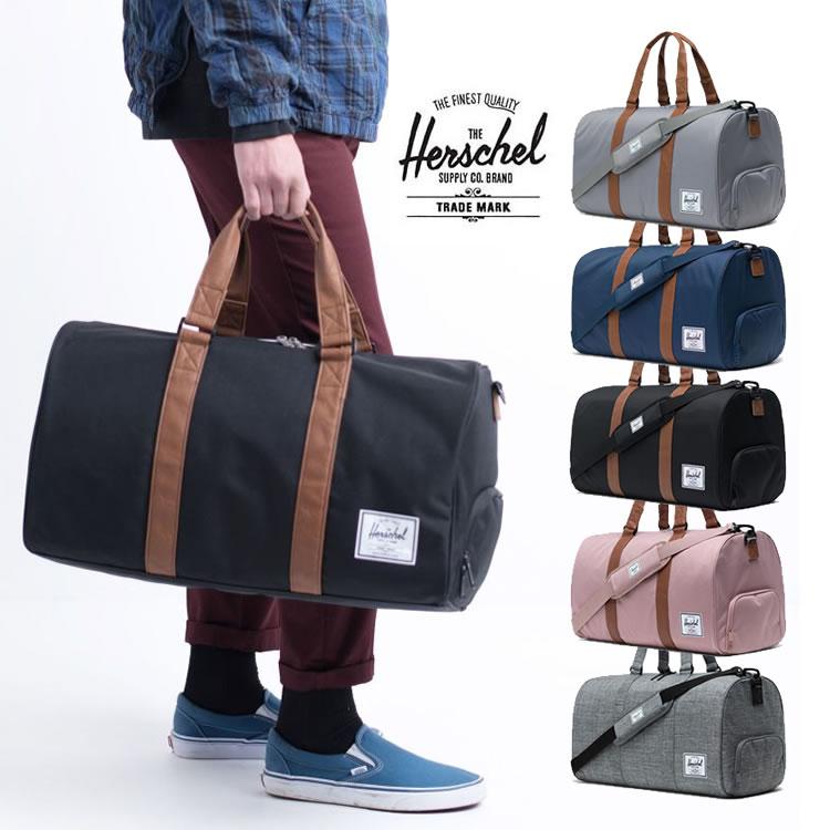 【ランキング多数受賞商品】ハーシェル Herschel Supply ボストンバッグ NOVEL[42.5L] バッグ 旅行鞄 リュック ダッフルバック ノベル ボストンバック ハーシェルサプライ メンズ レディース  おしゃれ [売れ筋]