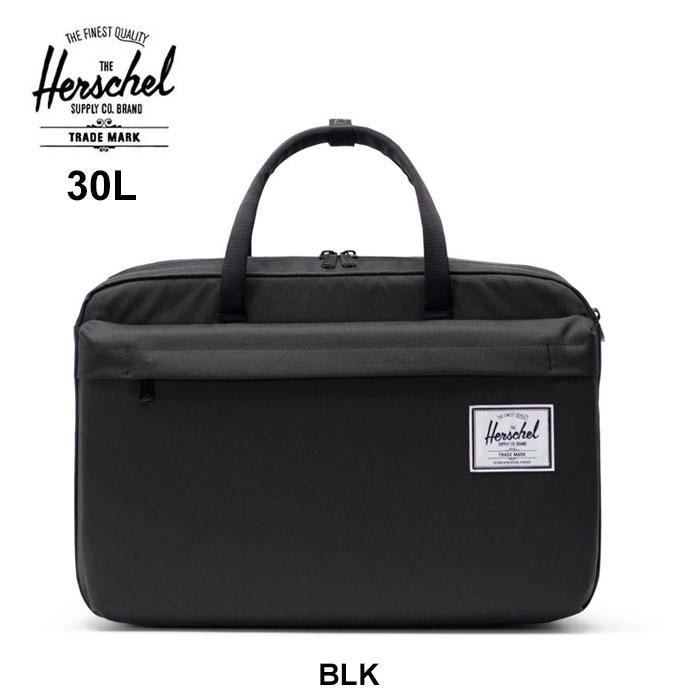 ハーシェル ビジネスバッグ Herschel [ BOWEN ](10582)BLK カバン [0615] リュック【SPS03】
