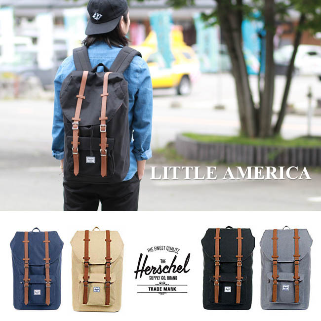 autoryzowana strona Hurt unikalny design Hershel supply Little America Herschel Supply backpack << Little America >>  [25L] Hershel supply men gap Dis rucksack day pack attending school ...