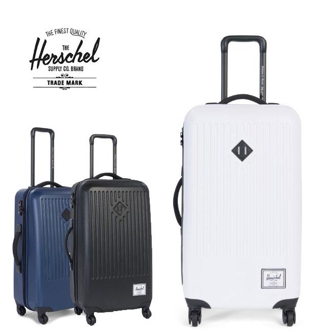 ハーシェルサプライ キャリーケース スーツケース Herschel Supply 旅行鞄 Herschel TRADE Medium[66L] 4フィールスーツケース 旅行バック カバン bag ハーシェルサプライ メンズ レディース おしゃれ 10333【SPS】