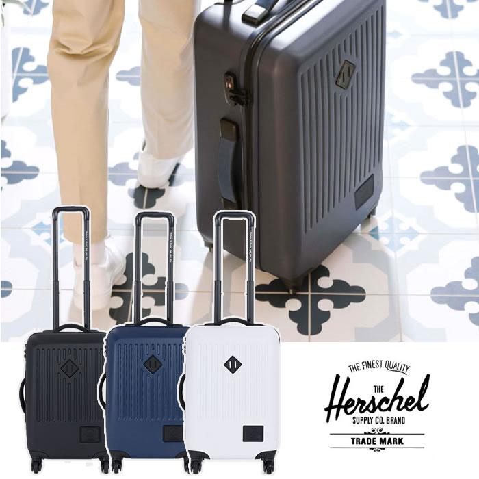 【会員限定エントリーでP最大18倍】ハーシェル キャリーケース スーツケース Herschel [ TRADE SMALL ] 40L BLK トレード バッグ 鞄 ハーシェルサプライ Herschel supply [1210] 【SP09】