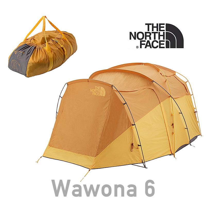 ノースフェイス テント THE NORTH FACE 【6人用テント】 [NV21702] Wawona 6 ワオナ6