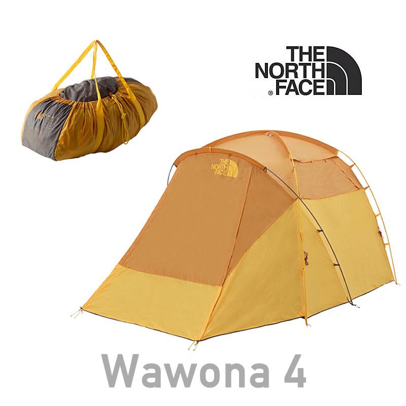 ノースフェイス テント THE NORTH FACE 【4人用テント】 [ NV21703 ] Wawona 4 ワオナ4