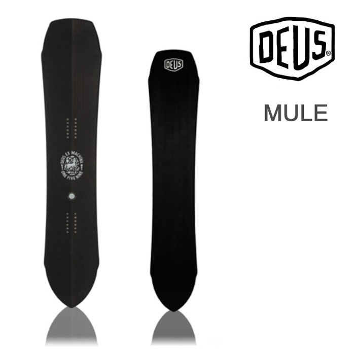 【会員限定エントリーでP最大18倍】デウス スノーボード DEUS [ DPT18W002 ] MULE BLK 159cm デウスエクスマキナ Deus Ex Machina スノボ 板 [1101]