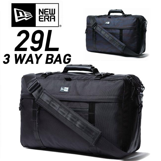 【お買い物マラソン!エントリー等でP最大38倍】ニューエラ バックパック NEWERA 3 WAY BAG [29L] 11404847/11404848 リュック デイパック バッグ 鞄 カバン bag