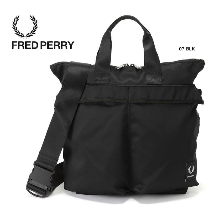 【お買い物マラソン!エントリー等でP最大38倍】フレッドペリー トートバッグ FRED PERRY [ F9550 ] MINI HELMET BAG バッグ ヘルメットバッグ [0103]