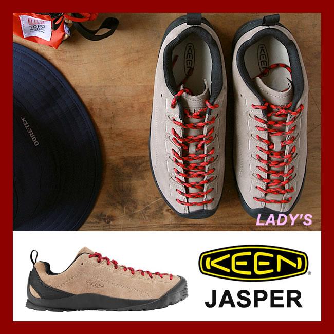 【お買い物マラソン!エントリー等でP最大38倍】KEEN レディース JASPER [Silver Mink](4347) キーン スニーカー シューズ ジャスパー