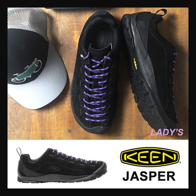 キーン レディース JASPER(Black/Black)(1017362) ジャスパー シューズ スニーカー KEEN キーン Women's