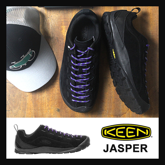 キーン ジャスパー メンズ JASPER [Black/Black](1017349) KEEN スニーカー シューズ ジャスパー