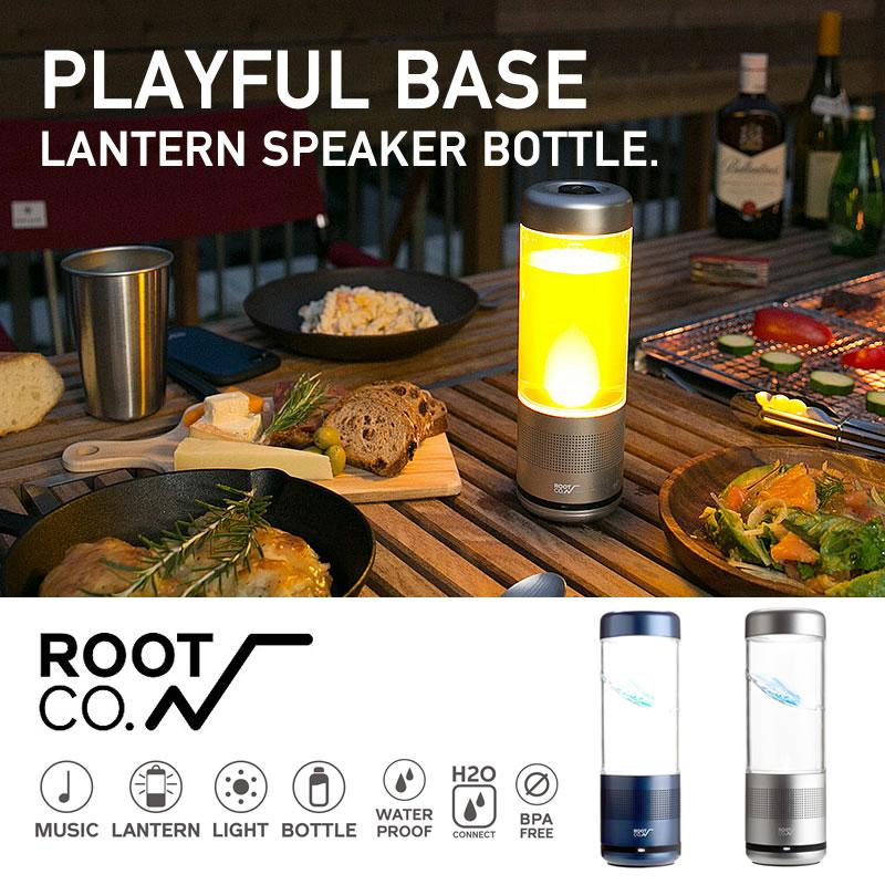 랜턴 스피커 보틀[ROOT CO. ] (PBLS) PLAYFUL BASE LANTERN SPEAKER BOTTLE LED 라이트 워터 보틀 Bluetooth 스피커 랜턴 스피커