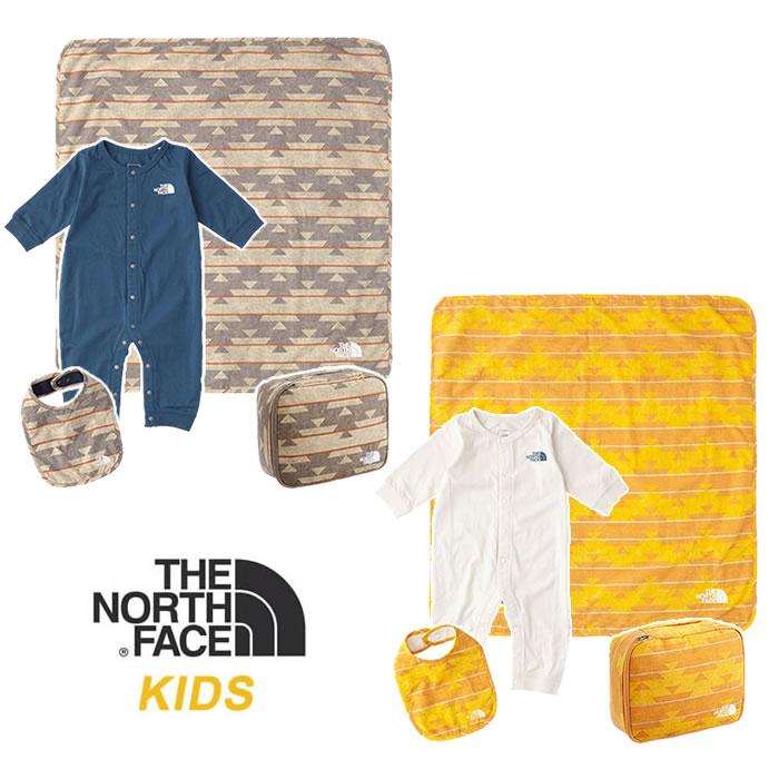 ノースフェイス キッズ ロンパース3点セット THE NORTH FACE [ NNB21807 ] BABY PAC SET northface 赤ちゃん[0805]