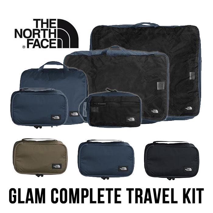ノースフェイス トラベルキット THE NORTH FACE [ NM81822 ] GLAM COMPLETE TRAVEL KIT グラムコンプリートトラベルキット 小物ケース 出張 旅行 [0205]