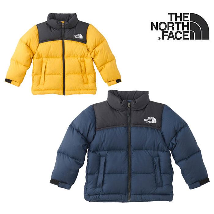 ノースフェイス キッズ ダウンジャケット THE NORTH FACE [ NDJ91863 ] NUPTSE JACKET ヌプシジャケット アウター [1003]