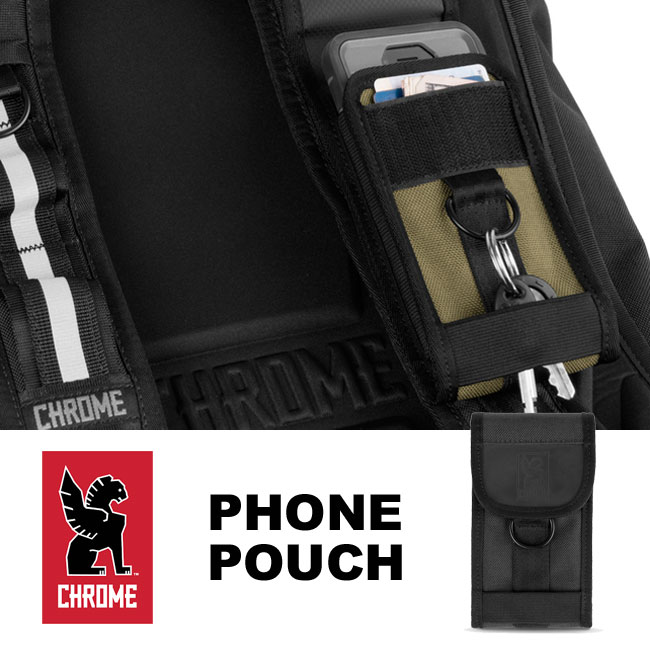 da80fa4f52 It is for the update of the conventional accessories porch and supports a  large smartphone. The indispensable porch can be attached to most chrome  bags to ...