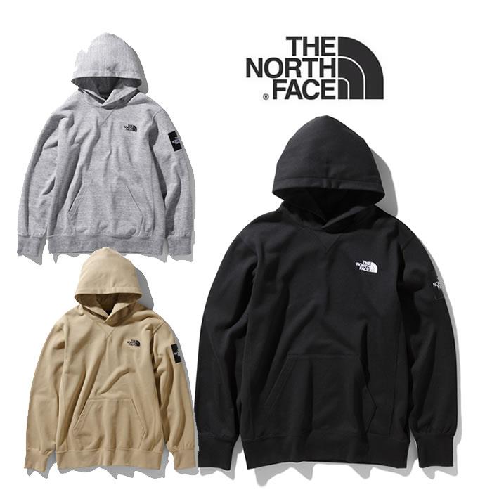 ノースフェイス パーカー THE NORTH FACE [ NT12035 ] Square Logo Hoodie スクエアロゴフーディ [0125]