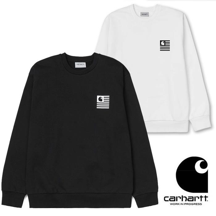 カーハート ダブリューアイピー トレーナー Carhartt WIP [ STATE CHROMO SWEAT ] スウェットシャツ (I027713) [0320]【P10】