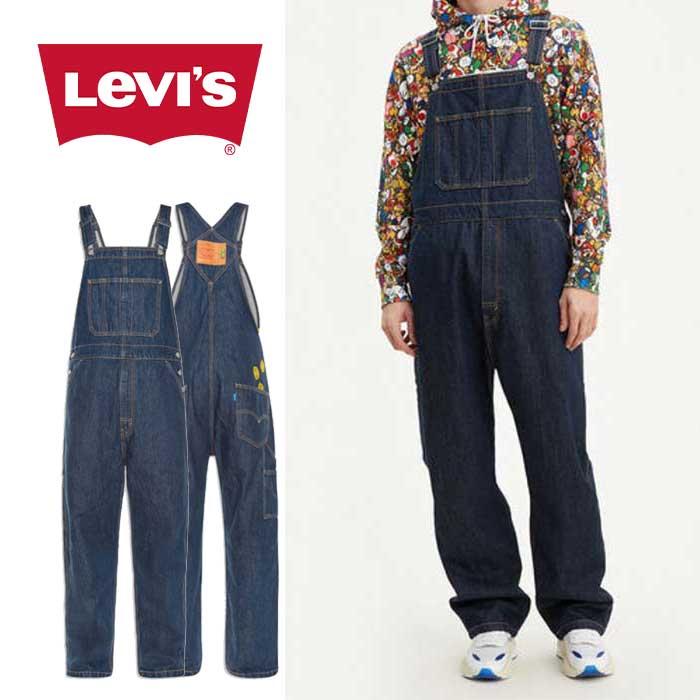 リーバイス × スーパーマリオ オーバーオール Levi's [ 79107-0002 ] MARIO OVERALLS PT SUPER MARIO ユニセックス[0401]