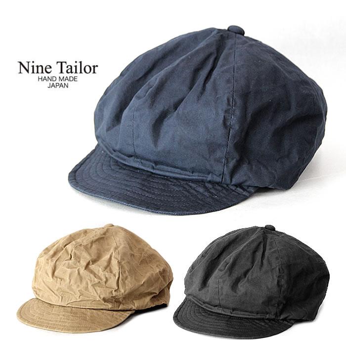 キャップ メンズ レディース ナインテイラー [ N-237 ] GASTRO CAP 帽子 NINE TAILOR [0205]【SPS】