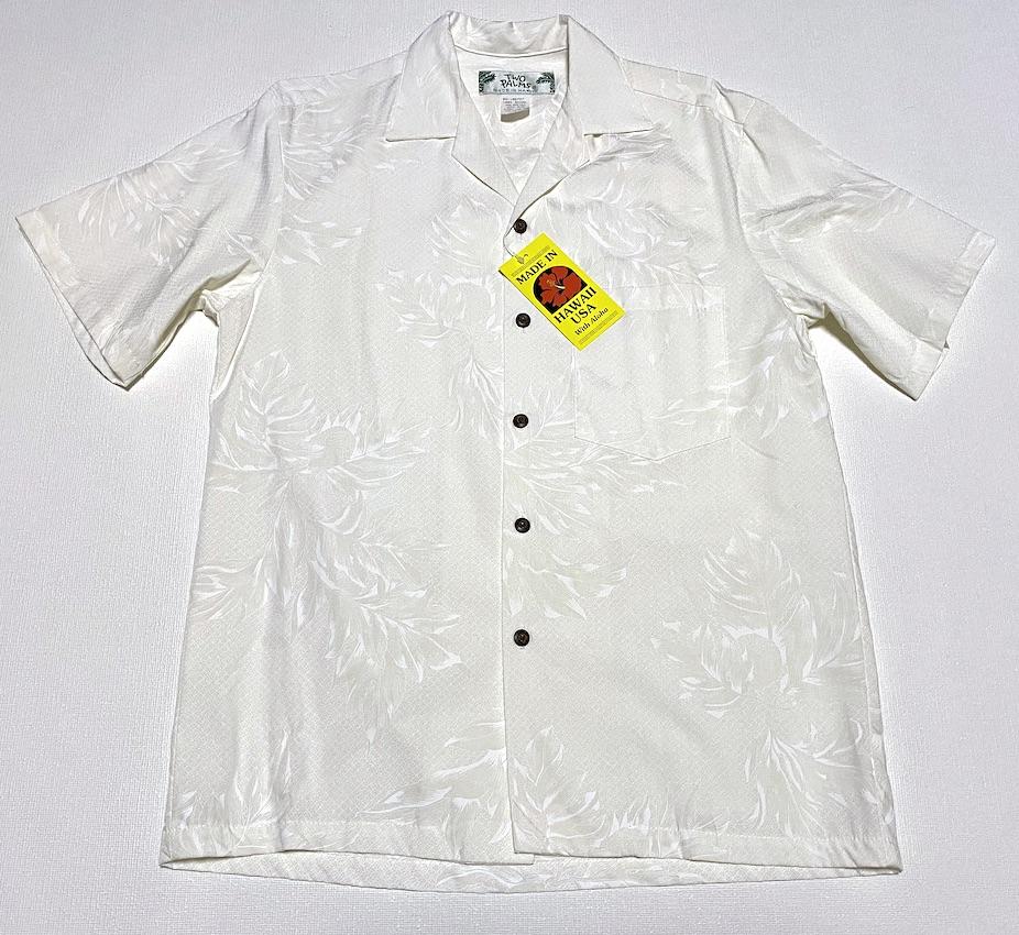 Hawaiiの縁起物のモチーフとして有名なUluのアロハシャツ アロハシャツ メンズ 半袖 レディース 大きいサイズ TWO PALMS ツーパームス TWO068 オフホワイト シロ 上等 パンの木 繁栄 成長 おしゃれ オススメ ギフト ハワイアン 制服 オープンカラー 開襟 衣装 イベント 売買 人気 送料無料 プレゼント ブランド 結婚式
